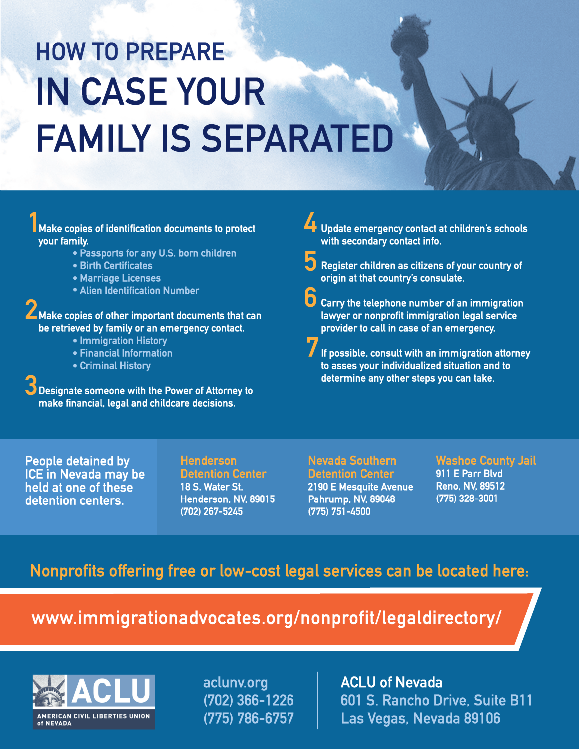 Immigration and DACA Resources | ACLU of Nevada