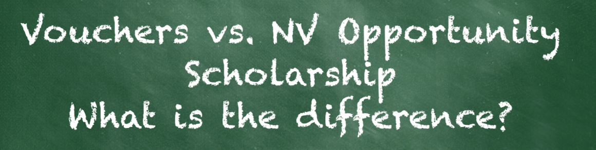 Vouchers vs. Opportunity Scholarship