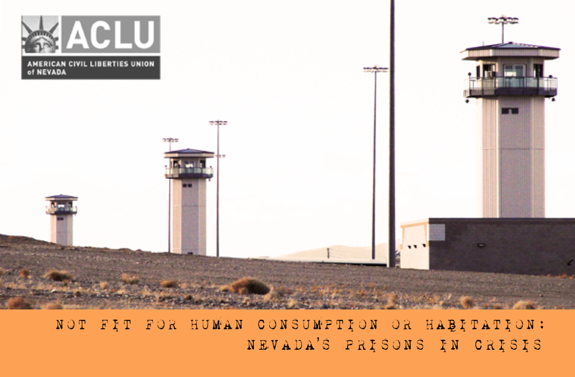 Cover image for report: Nevada Prisons in Crisis