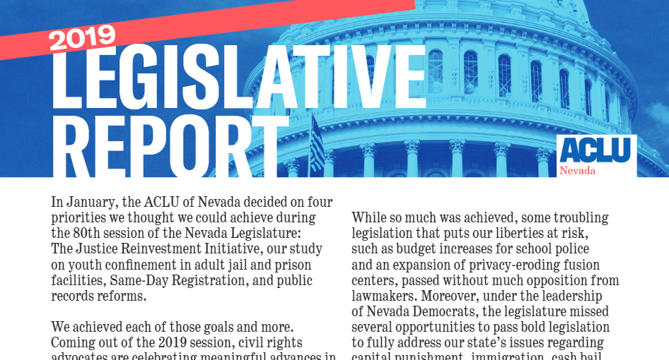 Thumbnail image of legislative report cover