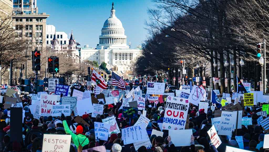 Muslim Ban Washington Protest