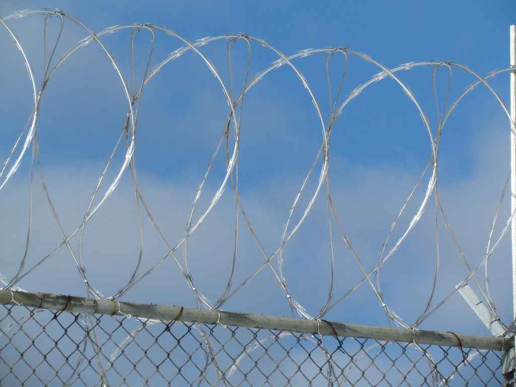 Prison chain Link Fence