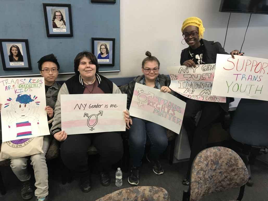 Students trans
