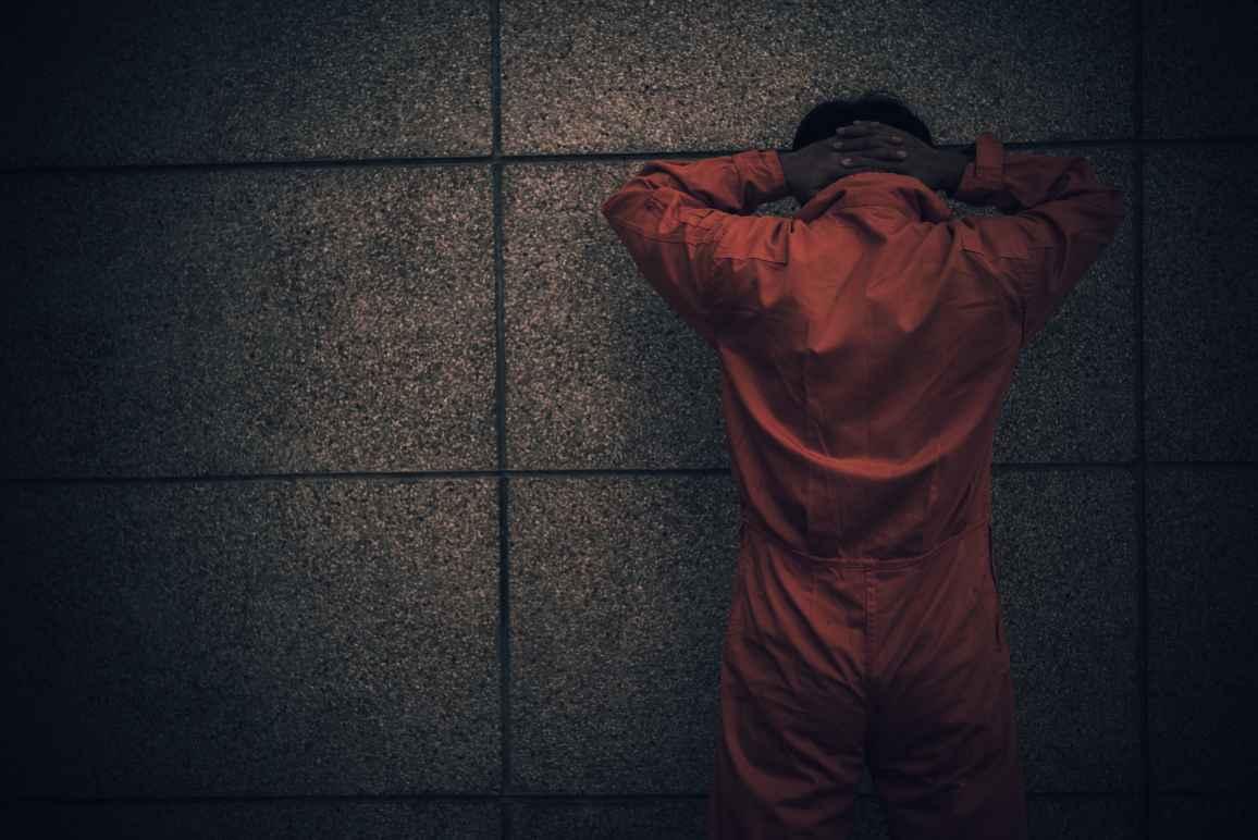 Image of a prisoner