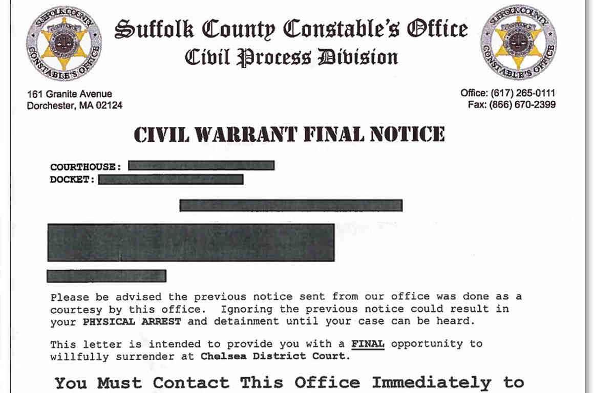 civil warrant