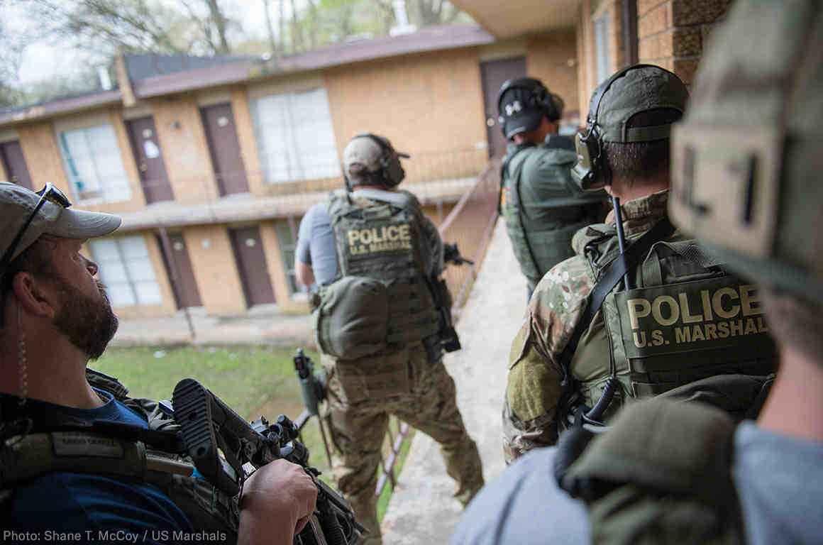 Marshals raid