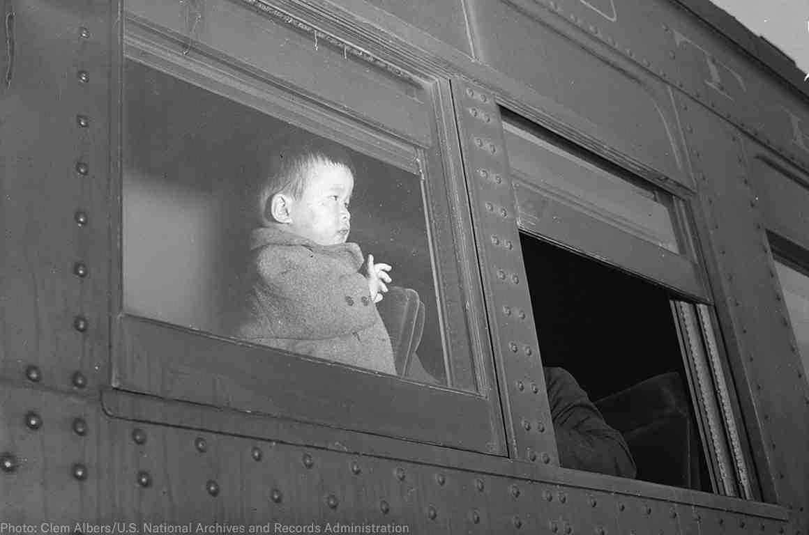 Japanese internment child