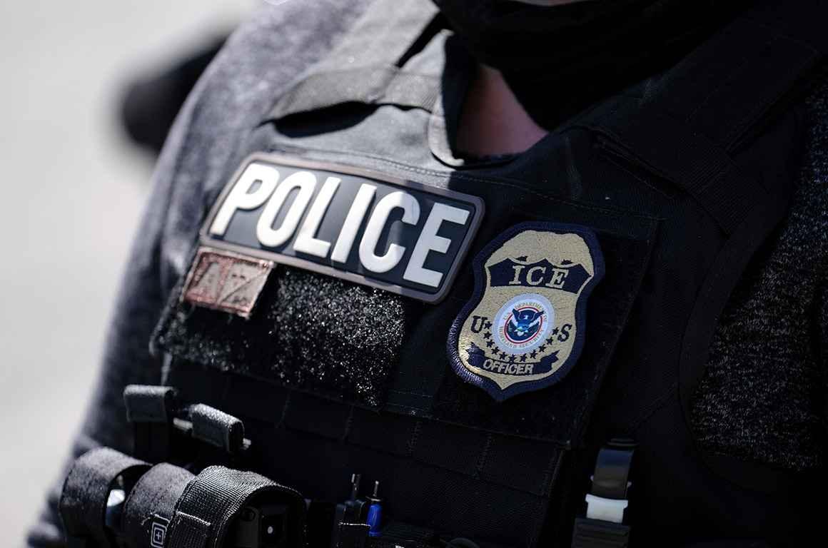 ICE Police Vest